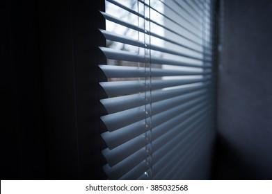 modern aluminium Shutter Blinds in room