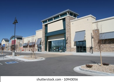 Modern American Strip Center
