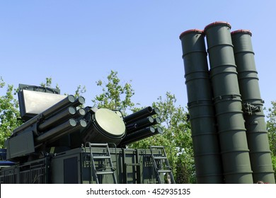 modern anti-aircraft missile system