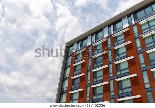 A modern apartment building in Washington, D.C.