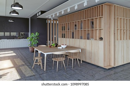 modern apartment design concept. 3d rendering illustration