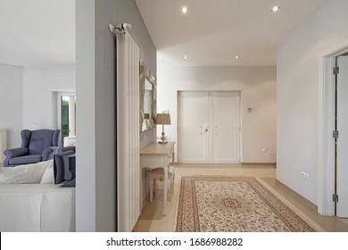 Modern apartment entrance. Hall. Sintra.