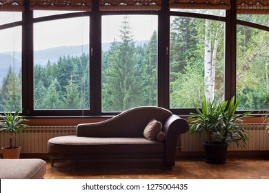 Wohnzimmer Holz Modern Stock Photos Images Photography