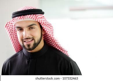 Modern arabic businessman