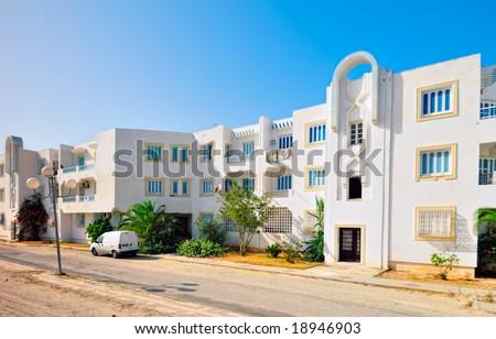 Modern Arabic Style House Tunisia Africa Stock Photo Edit Now