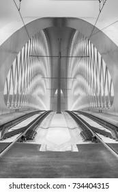 Modern architecture - Shutterstock ID 734404315