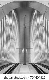 Modern architecture - Shutterstock ID 734404318