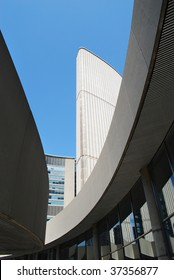 Modern architecture of the City Hall, Toronto, Canada