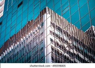Modern architecture close up