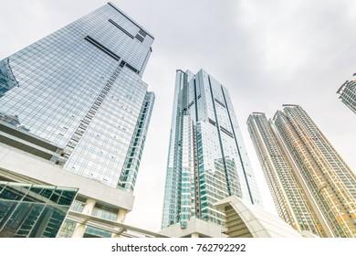Modern architecture in HONG KONG,China