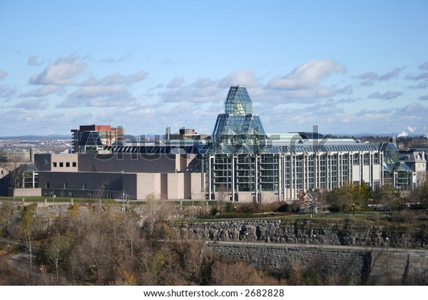 modern of architecture of National Gallery of Canada Ottawa