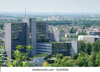 Modern Architecture - Office and Residential Blocks, Siegburg