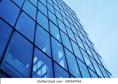 Modern architecture perspective view