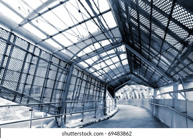Modern architecture scenic of beautiful and fashion flyover.