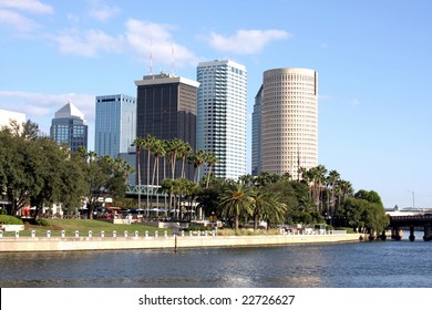 Modern Architecture in Tampa Florida, USA