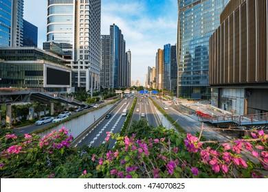 Modern architecture,Guangzhou China