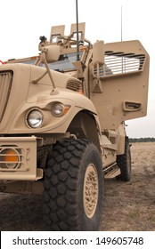 Modern Armored Military Truck