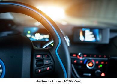 Modern Automobile Interior