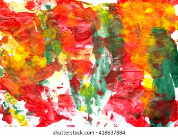 Modern background. Abstract emotional art. Painted design element. Watercolor background.