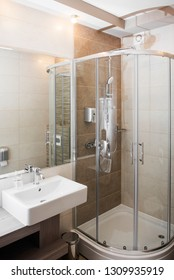 Modern bathroom for your real estate commercial