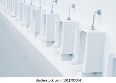 Modern beauty toilet interior with marble tiles (bathroom, toilet)