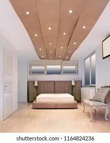 Bedroom+ceiling+lighting Images, Stock Photos & Vectors ...