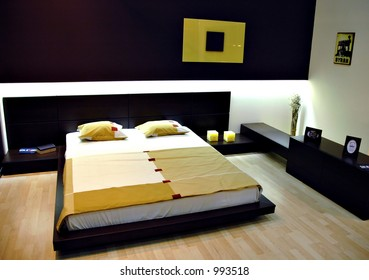 Modern bedroom waiting for couple
