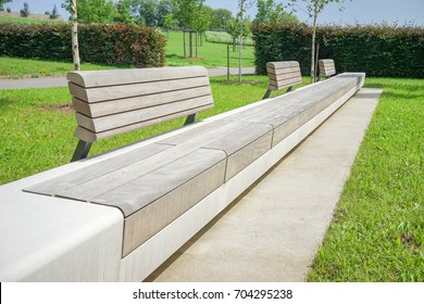 Concrete Bench High Res Stock Images Shutterstock
