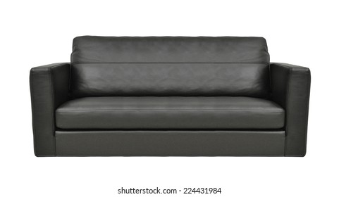 Black Leather Couch Images Stock Photos Vectors