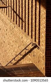 Lübeck, modern brick architecture