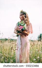 Modern Bridal Style Boho Fashion Wedding