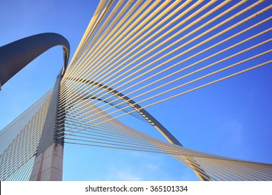 Modern bridge architecture at Putrajaya