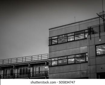 Modern Building in Aarhus Denmark Scandinavia