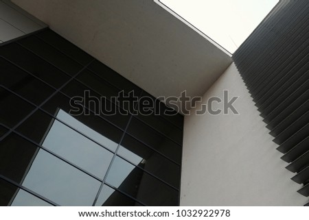 Modern Building Architecture Design Glass Wall Stock Photo Edit Now