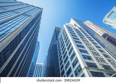 modernes Gebäude in der Stadt
