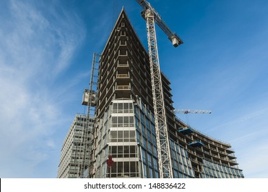 Modern Building Construction In Liverpool
