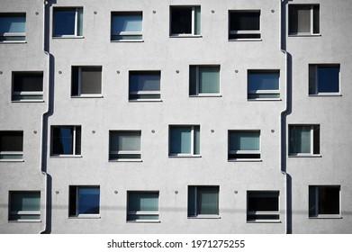 modern building exterior in Vienna Austria