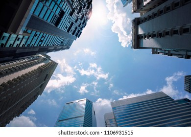 Modern Building with sky