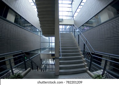 Modern building - stairs