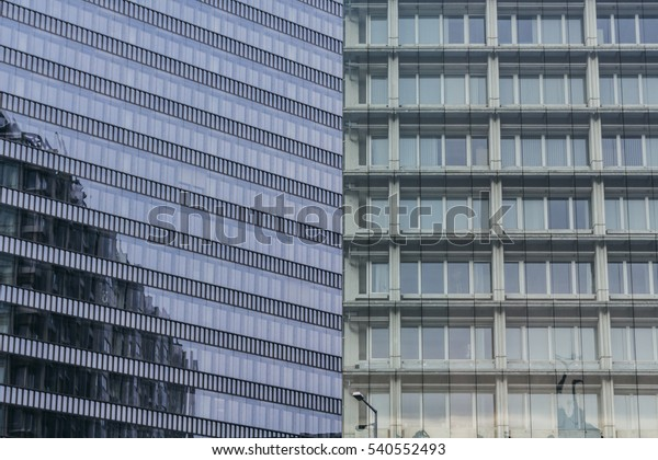 Modern Buildings Background Stock Photo (Edit Now) 540552493