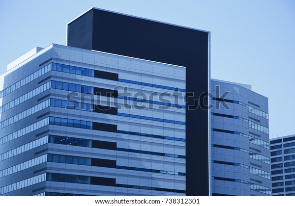 Modern Buildings Personal View Stock Photo (Edit Now) 738312301