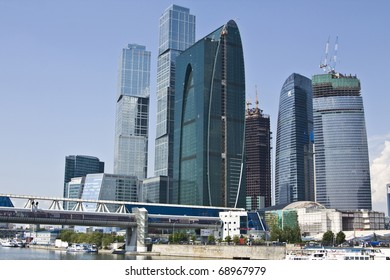Modern business centre Moscow-city