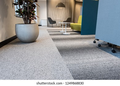 Modern Business Interior, Colorful but Design