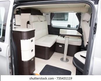 modern camper, caravanning, motoring and tourism trade