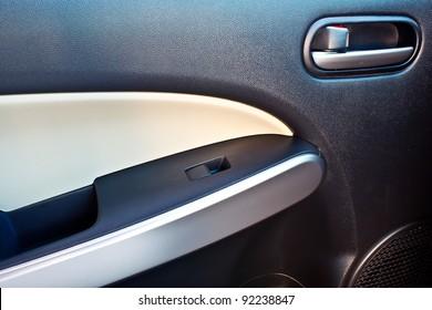 modern car door panel control