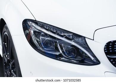 Headlight Images, Stock Photos & Vectors | Shutterstock