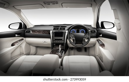 Modern car interiors