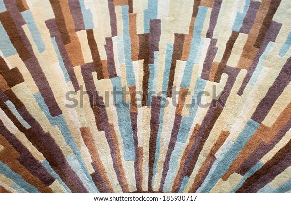Modern carpet. Background. Textile texture.