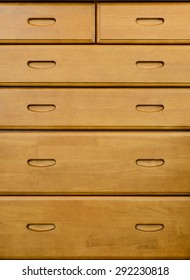 Modern chest of drawers made in wood