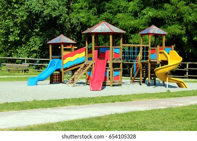 Modern children playground